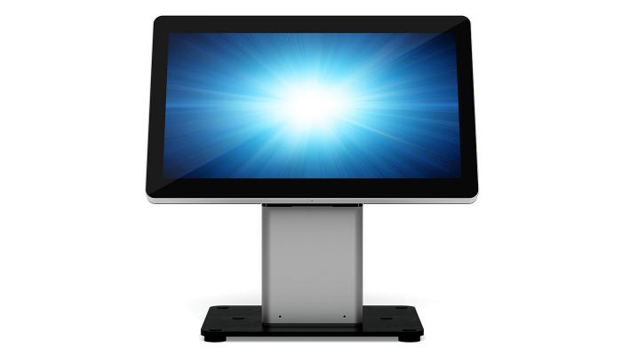 Elo Touch Solution E514693 accesorio para terminal de punto de venta Montaje POS Acero inoxidable, Negro, Plata