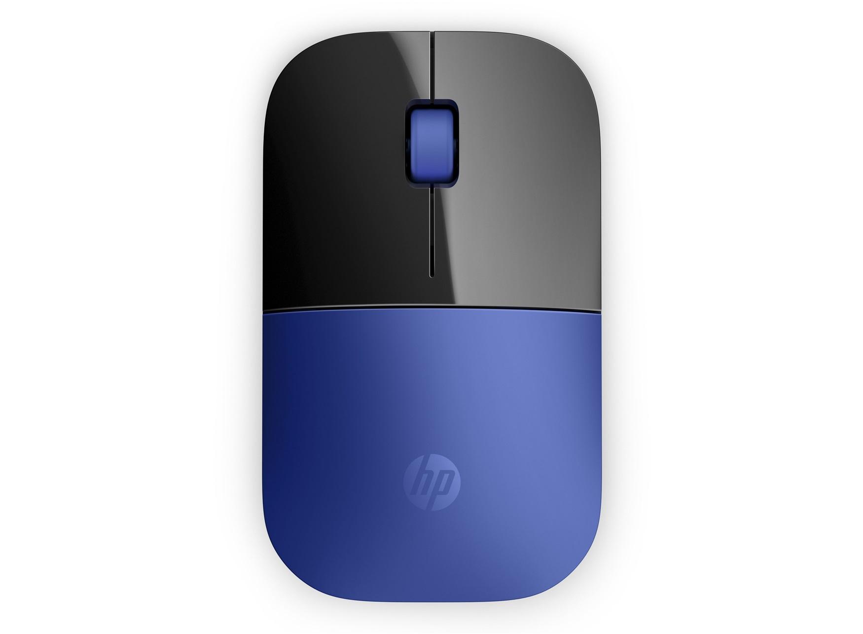 HP Z3700 RF Wireless Optical 1200DPI Black,Blue Ambidextrous