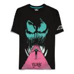Marvel Venom Lethal Protector T-Shirt, Male, Medium, Black (TS484155SPN-M)