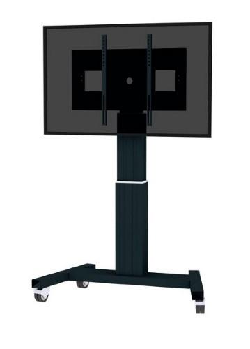 "Newstar Mobile Motorised TV/LFD Trolley for 42""-100"" screen, Height Adjustable - Black"