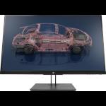 "HP Z27n G2 27"" 2560 x 1440 pixels Quad HD LED Silver"