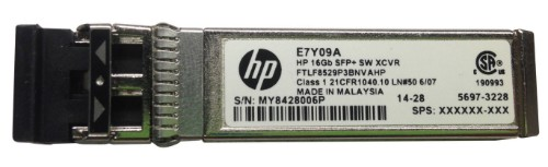 Hewlett Packard Enterprise 16GB SFP+ Short Wave 1-pack Extended Temperature Transceiver network transceiver module Fiber optic 16000 Mbit/s SFP+ 850 nm