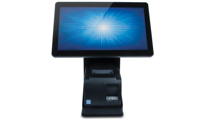 Elo Touch Solution Wallaby POS Stand mueble y soporte para impresoras Negro