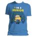 DESPICABLE ME 2 Men's 1 in a Minion T-Shirt, Small, Blue (TM2018DM-S)