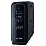 CyberPower PFC Sinewave Line-Interactive 1500VA 6AC outlet(s) Tower Black uninterruptible power supply (UPS)ZZZZZ], CP1500EPFCLCD-UK