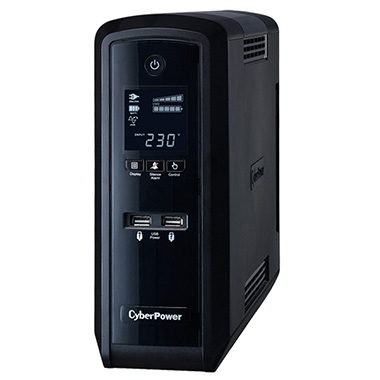 CyberPower PFC Sinewave Line-Interactive 1500VA 6AC outlet(s) Tower Black uninterruptible power supply (UPS)