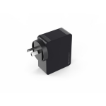 SWISS 4 Port USB UL certified Wall Charger 4.8 amp - Black