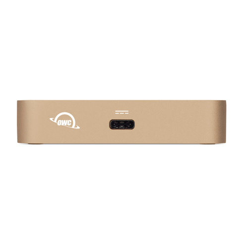 OWC OWCTCDK5PGD USB 3.0 (3.1 Gen 1) Type-A Black, Gold notebook dock/port replicator