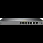Hewlett Packard Enterprise OfficeConnect 1920S 24G 2SFP PPoE+ 185W Managed L3 Gigabit Ethernet (10/100/1000) Power over Ethernet (PoE) 1U Gray