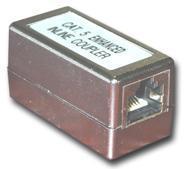 MCL RJ-45F/F5EBT conector Aluminio