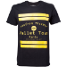 Pokémon Pallet Town Kanto Men's T-Shirt, Medium, Black (TS408064POK-M)
