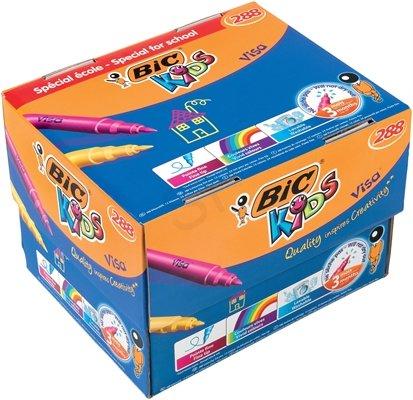 BIC Kids Visa felt pen Fine Multicolour 288 pc(s)