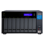 QNAP TVS-872XT NAS Tower Ethernet LAN Black i5-8400T TVS-872XT-I5-16G/96TB-GOLD