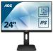 """AOC Pro-line X24P1 pantalla para PC 61 cm (24"""") 1920 x 1200 Pixeles WUXGA LED Plana Mate Negro"""