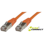 Microconnect SSTP CAT6 10M 10m Orange networking cable