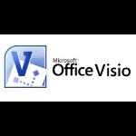 Microsoft Visio Professional, GOV, OLV-D, 1U, 1Y, Int