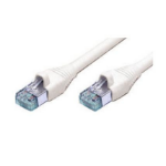 AMP 1-1711091-1 0.5m Cat6 U/UTP (UTP) White networking cable