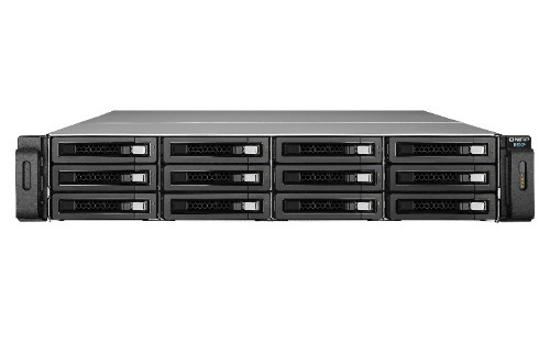 QNAP REXP-1220U-RP disk array 72 TB Rack (2U) Black