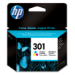 HP 301 Tri-color Ink Cartridge Original Cian, magenta, Amarillo