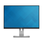 "DELL UltraSharp U2415 24.1"" Full HD IPS Matt Black,Silver computer monitor"