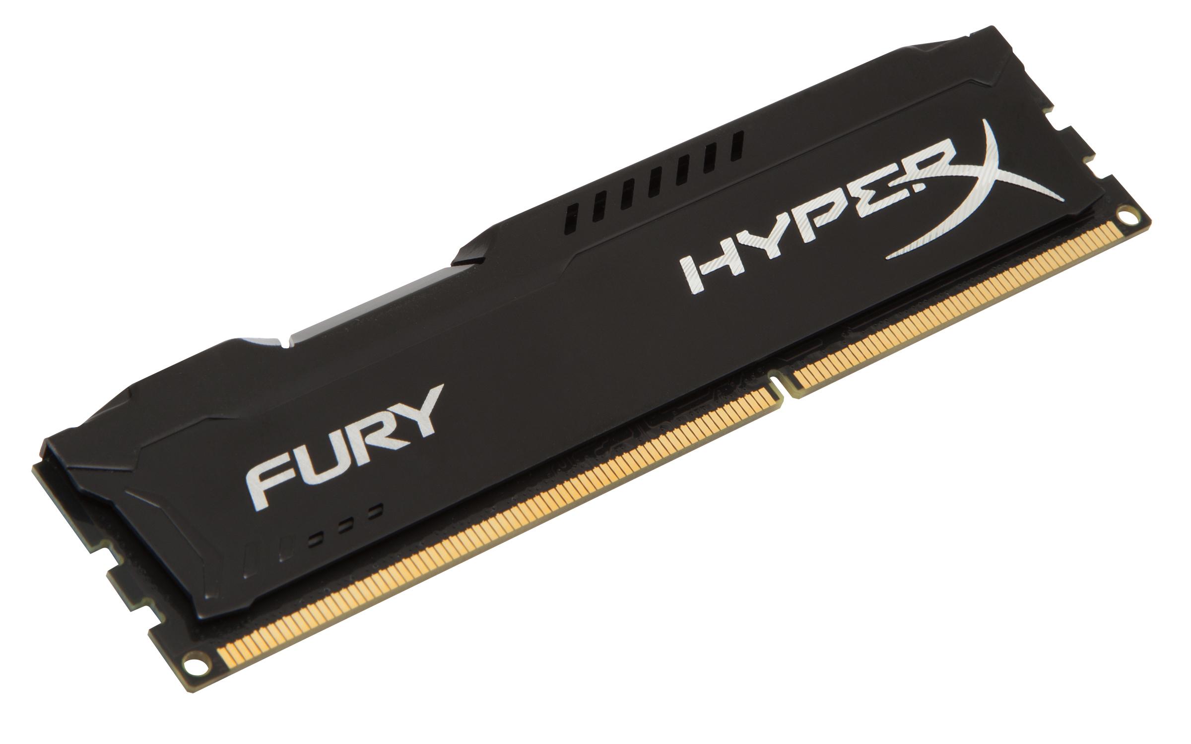 HyperX FURY Black 4GB 1600MHz DDR3 4GB DDR3 1600MHz memory module