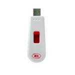 ACS ACR122T smart card reader Indoor USB 2.0 Black, Red