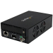 StarTech.com 10 Gigabit Ethernet Copper-to-Fiber Media Converter - Open SFP+ - Managed