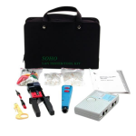 StarTech.com Professional Network Installer Tool Kit