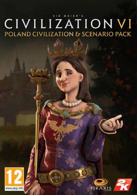 Nexway Civilization VI - Poland Civilization & Scenario Pack, PC Video game downloadable content (DLC) Sid Meier's Civilization VI Español