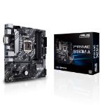 ASUS PRIME B460M-A mATX Motherboard Intel 10th Gen LGA1200 DDR4 2933MHz, 2xM.2, 6xSATA, DP, HDMI, DVI-D,