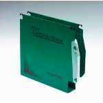 Rexel Crystalfile Classic `275` Lateral File 50mm Green (50)