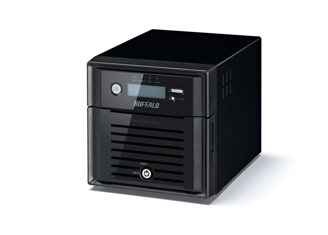 Buffalo TeraStation 5200DRW2 8TB Storage server Ethernet LAN Black