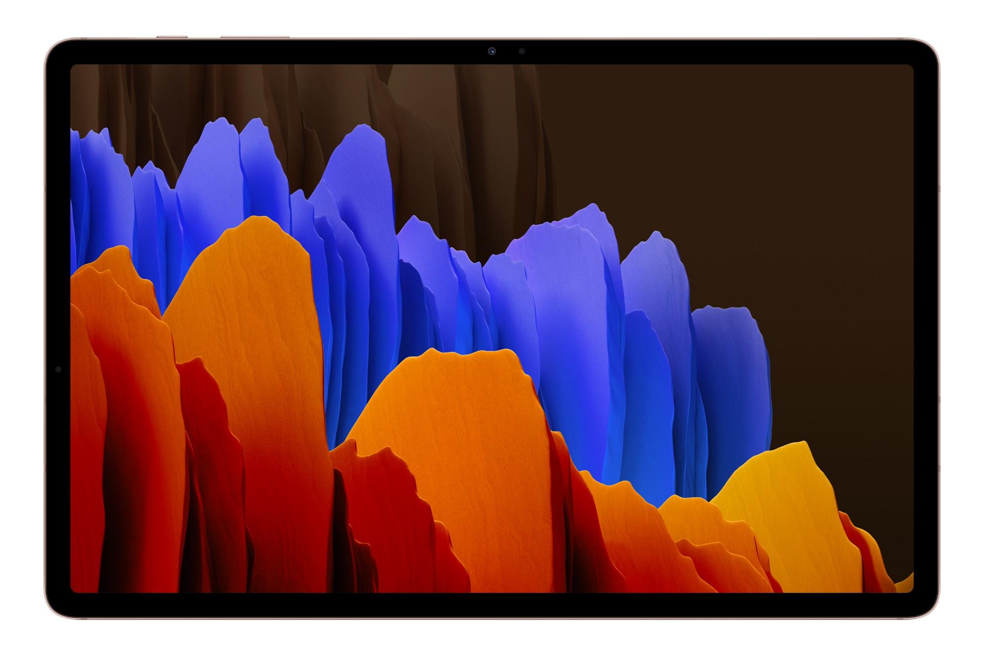 "Samsung Galaxy Tab S7+ SM-T970N 128 GB 31.5 cm (12.4"") Qualcomm Snapdragon 6 GB Wi-Fi 6 (802.11ax) Android 10 Bronze"