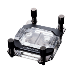 Phanteks Glacier C350A CPU Water Block Acrylic Cover RGB LED - Black Black,Transparent