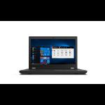 "Lenovo ThinkPad P15 Mobile workstation 15.6"" Full HD Intel® Xeon® 32 GB DDR4-SDRAM 1000 GB SSD NVIDIA RTX A2000 Wi-Fi 6 (802.11ax) Windows 10 Pro for Workstations Black"