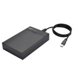 "Tripp Lite U339-001-FLAT storage drive enclosure 2.5/3.5"" HDD/SSD enclosure Black"