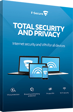 F-SECURE Total Security and Privacy 1year(s) Full license Multilingual
