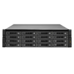 QNAP REXP-1620U-RP 64000GB SAS Rack (3U) Black,Grey