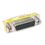 C2G DB15 F/F Mini Gender Changer DB15-Pin DB15-Pin cable interface/gender adapter