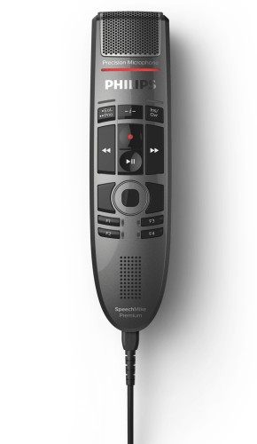 Philips SpeechMike Premium Touch Wired Black