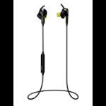 Jabra Sport Pulse In-ear Binaural Wireless Black, Yellow mobile headset