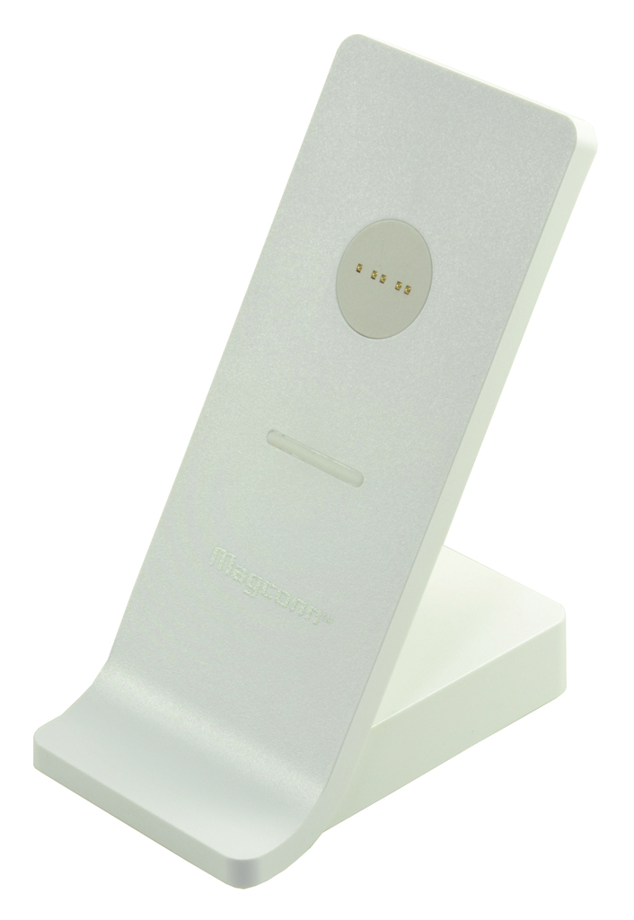 2-Power White Desktop Stand