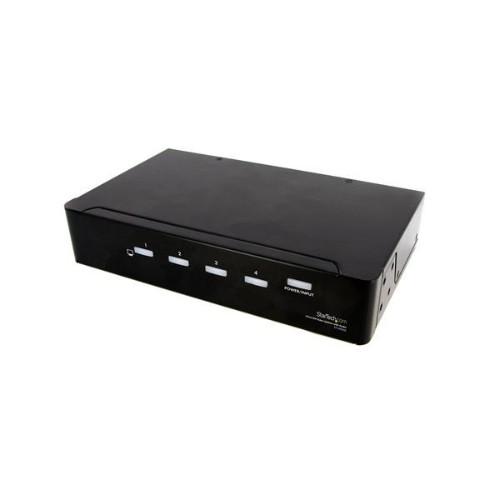 StarTech.com 4 Port DVI Video Splitter with Audio