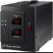 PowerWalker AVR 3000 SIV FR 1AC outlet(s) Black voltage regulator