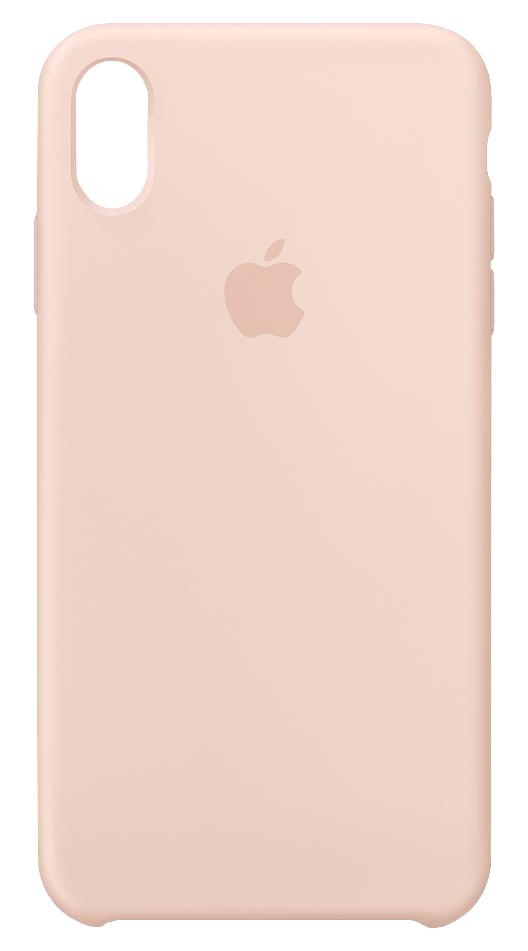 "Apple MTFD2ZM/A funda para teléfono móvil 16,5 cm (6.5"") Funda blanda Rosa, Arena"