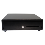 APG Cash Drawer Vasario Black cash & ticket box