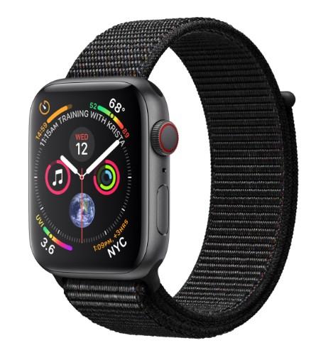 Apple Watch Series 4 smartwatch OLED Gray 4G GPS (satellite)