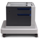 HP LaserJet Color 500-sheet Paper Feeder and Cabinet