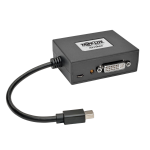 Tripp Lite B155-002-DVI-V2 video cable adapter Mini DisplayPort Black