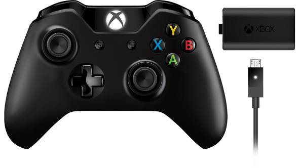 Microsoft Xbox One Wireless Controller Play and Charge Kit